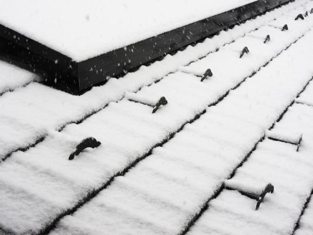 伊勢原市 雪止め工事