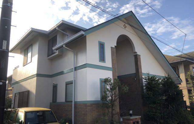 神奈川県秦野市 外壁塗装 屋根カバー工事 コーキング工事