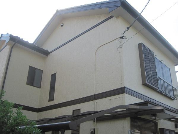 神奈川県伊勢原市 外壁塗装 屋根塗装 水谷ペイント ナノコンポジットW カラーシュミレーション