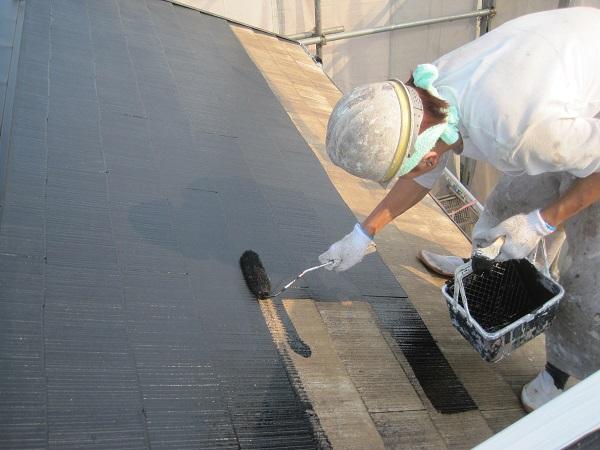 神奈川県伊勢原市 外壁塗装 屋根塗装 スレート屋根 コーキング工事 水谷ペイント ナノコンポジットW