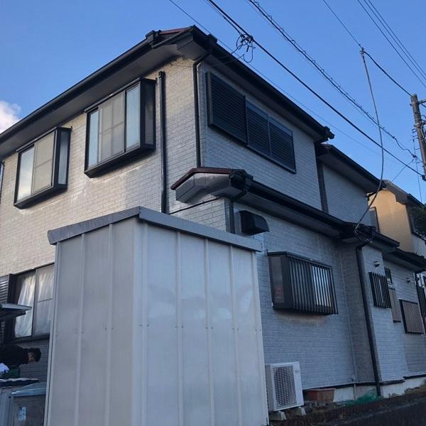 神奈川県伊勢原市 外壁塗装 屋根塗装 セラミック断熱塗料 日進関西 ガイナ