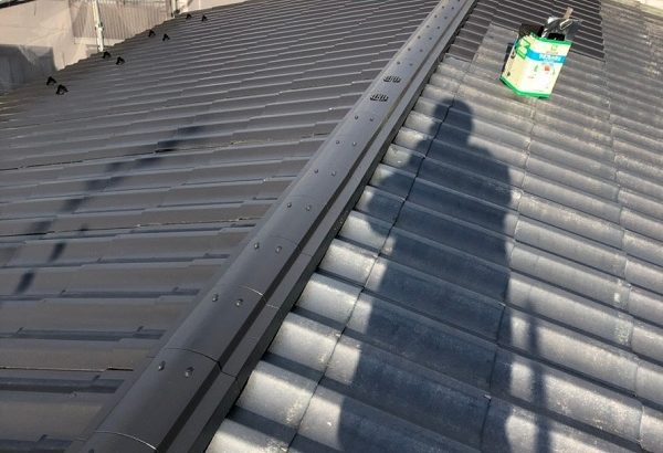 神奈川県平塚市 屋根塗装 防水工事 ウレタン防水