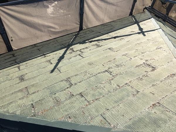 神奈川県伊勢原市 外壁塗装 屋根塗装 チョーキング現象 セミフロンIIシリーズ