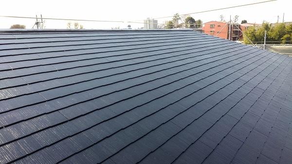 神奈川県秦野市 屋根塗装 下地処理 日本ペイント 遮熱塗料 サーモアイ