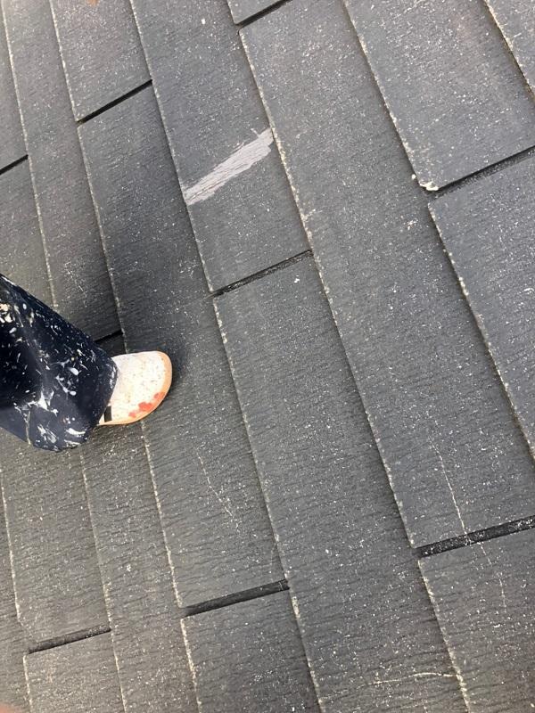 神奈川県伊勢原市 外壁塗装 屋根塗装 下地処理 ひび割れ補修 (3)