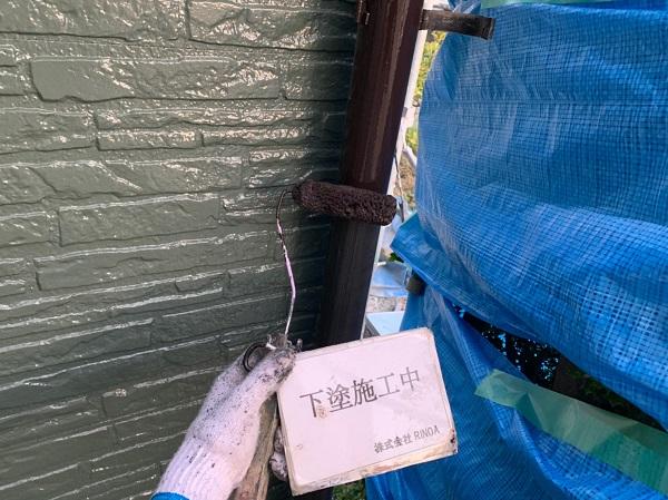 神奈川県伊勢原市 外壁塗装 屋根塗装 雨樋塗装 ケレン作業
