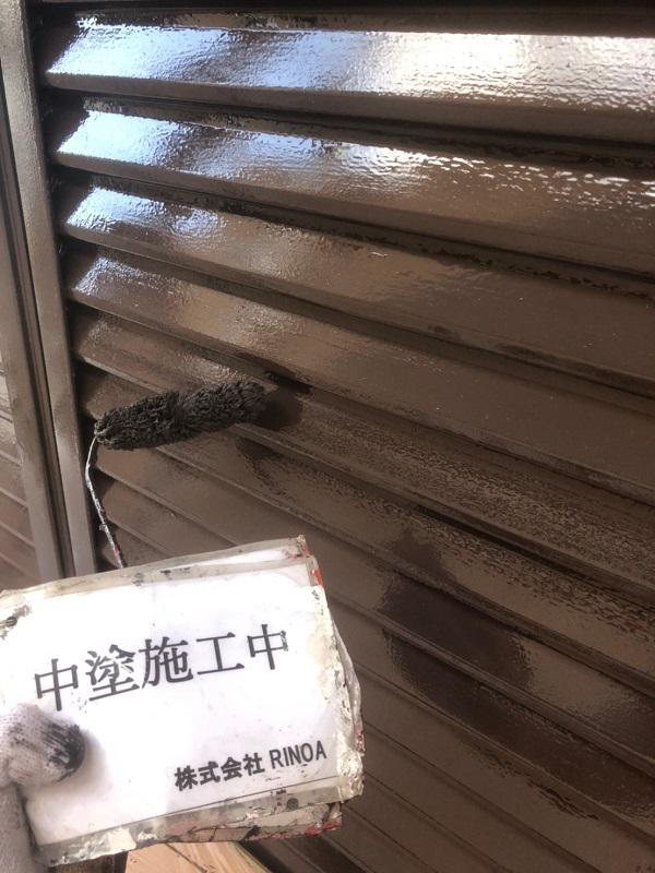 神奈川県伊勢原市 屋根塗装 雨戸塗装 軒天補修 雨戸の劣化
