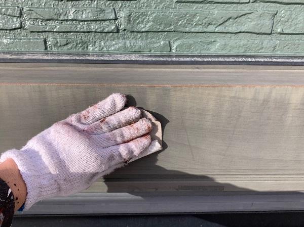 神奈川県伊勢原市 外壁塗装 屋根塗装 下地処理 ケレン作業 (3)