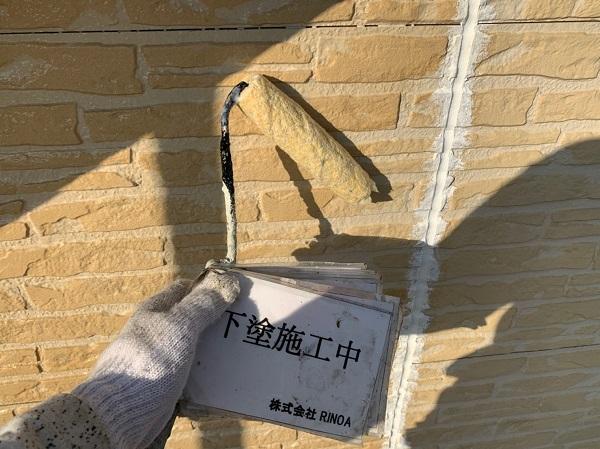神奈川県伊勢原市 外壁塗装 屋根塗装 下塗り プライマー (2)