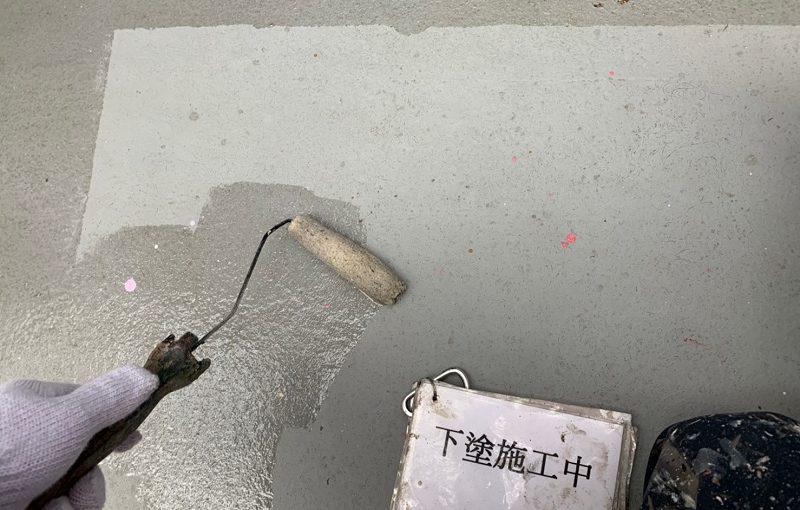 神奈川県伊勢原市 外壁塗装 屋根塗装 防水工事 ベランダ FRP防水 (4)