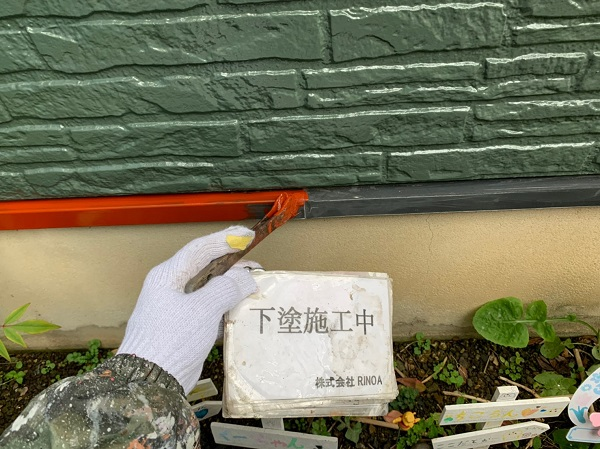 神奈川県伊勢原市 外壁塗装 屋根塗装 下塗り プライマー (3)