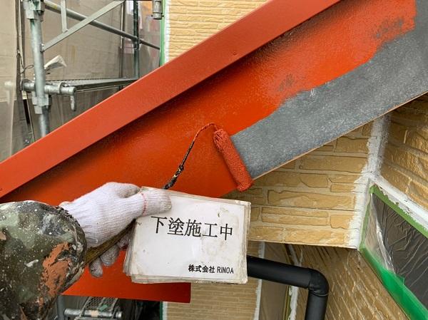神奈川県伊勢原市 外壁塗装 屋根塗装 下塗り プライマー (4)