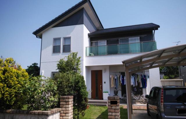 神奈川県平塚市 外壁塗装 屋根塗装 コーキング工事 付帯部分塗装