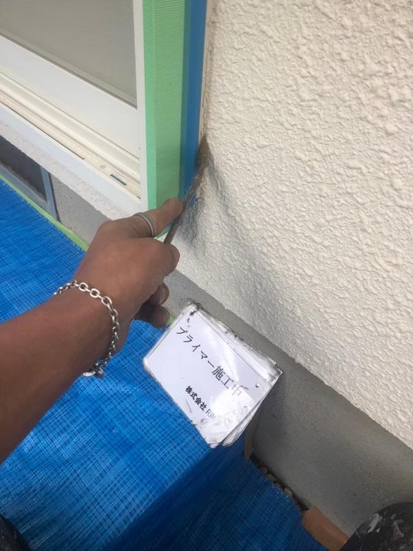 神奈川県伊勢原市 屋根葺き替え工事 外壁塗装 付帯部塗装 シーリング(コーキング)工事 (1)