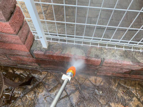 神奈川県 横浜市 外壁塗装工事 高圧洗浄の画像