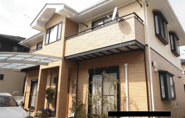 神奈川県厚木市 外壁塗装 屋根塗装 棟板金工事 コーキング工事