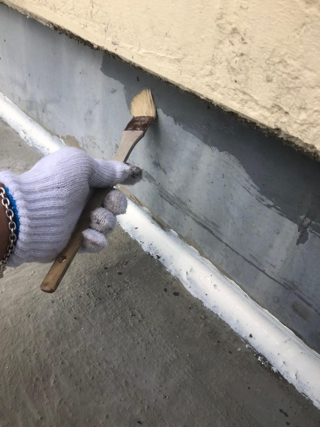 神奈川県 伊勢原市 防水工事 プライマー塗布の画像