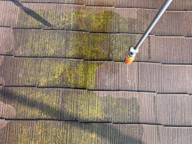 神奈川県秦野市屋根塗装工事 既存屋根の画像