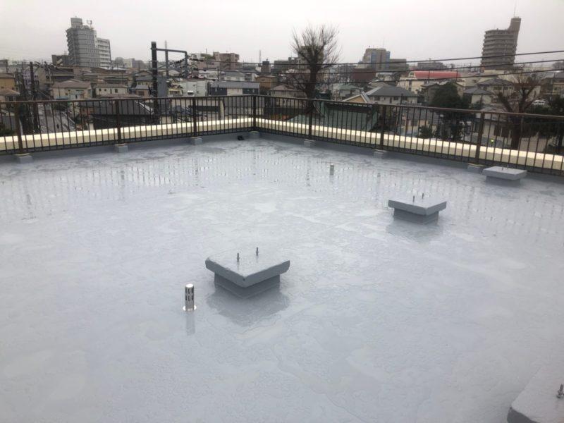 神奈川県 伊勢原市 防水工事 防水工事完了写真