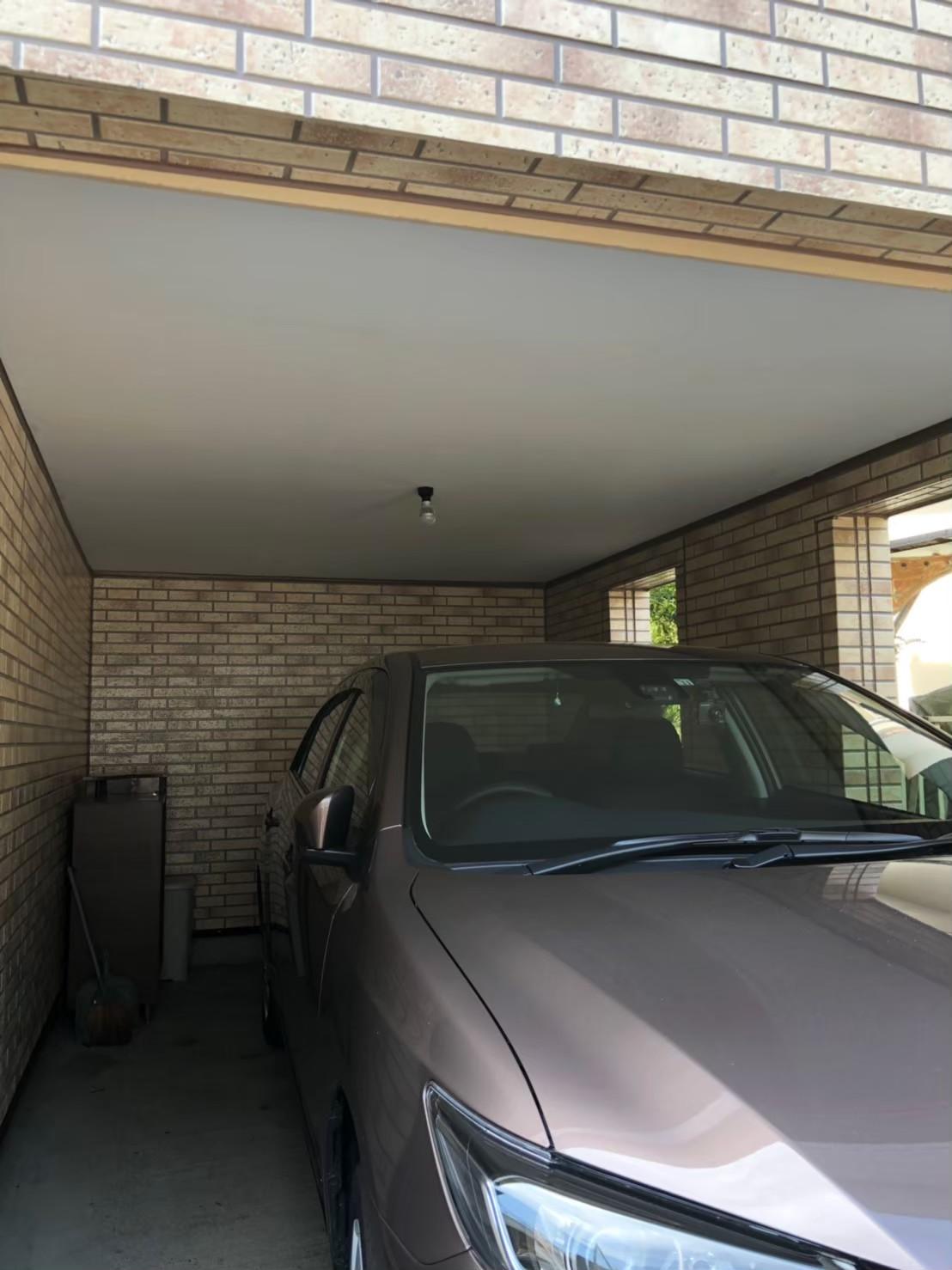 車庫塗装の画像