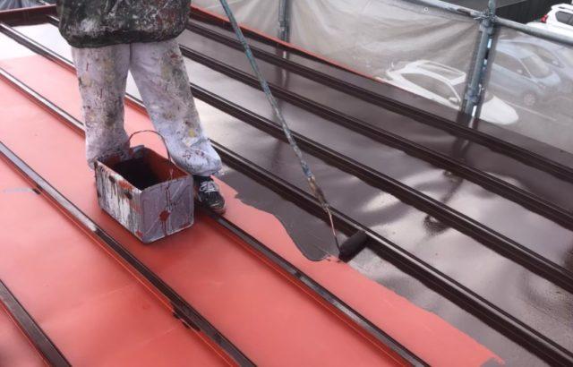 トタン屋根塗装の画像