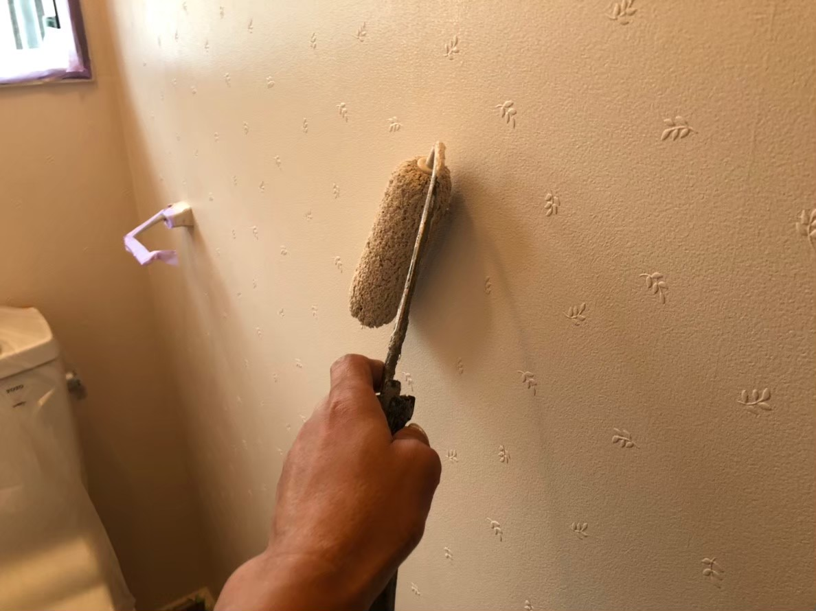 室内塗装の画像